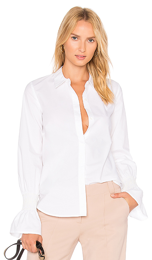 A.L.C. Noely Top in White