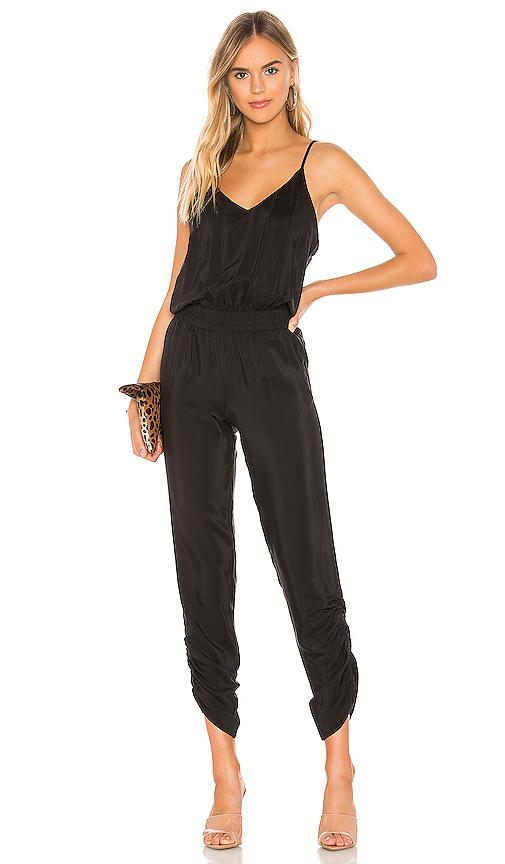 AMANDA UPRICHARD | Amanda Uprichard Lowell Jumpsuit In Black. - Size S (Also In L,M,XS) | Goxip