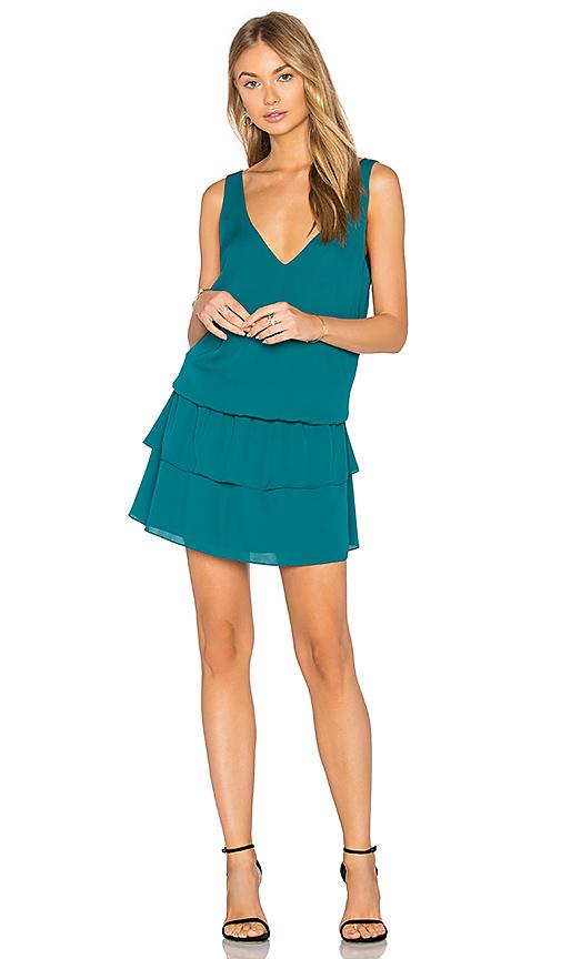Amanda Uprichard Piper Dress in Green. - size M (also in S)
