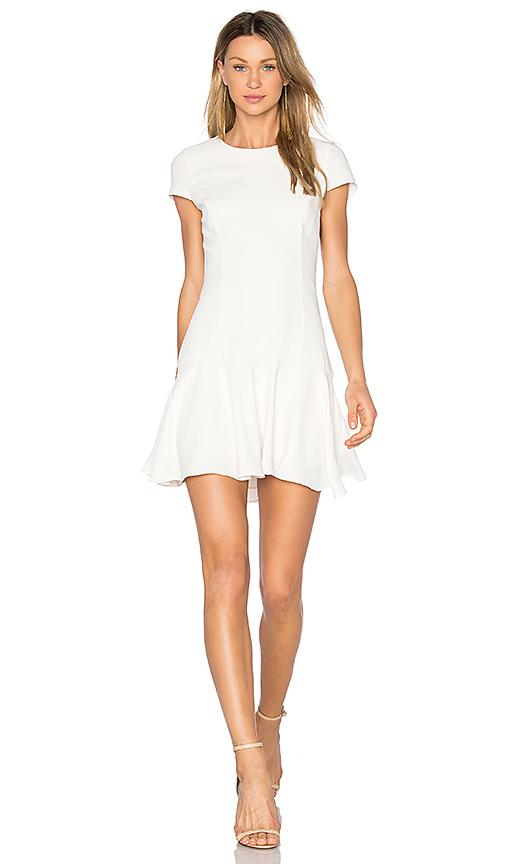 Amanda Uprichard Hudson Dress in White