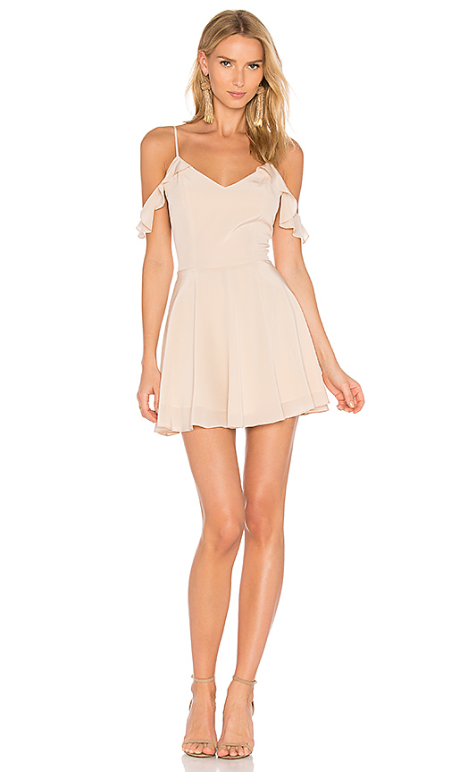 Amanda Uprichard Tate Dress in Beige