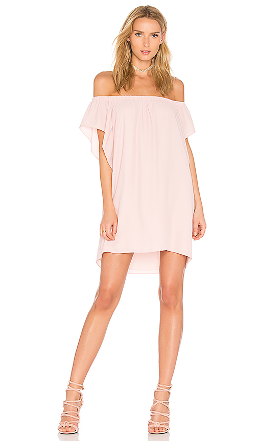Amanda Uprichard Castaway Dress in Rose
