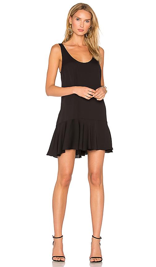 Amanda Uprichard Soren Dress in Black