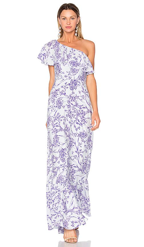 Amanda Uprichard Sedona Maxi Dress in Lavender