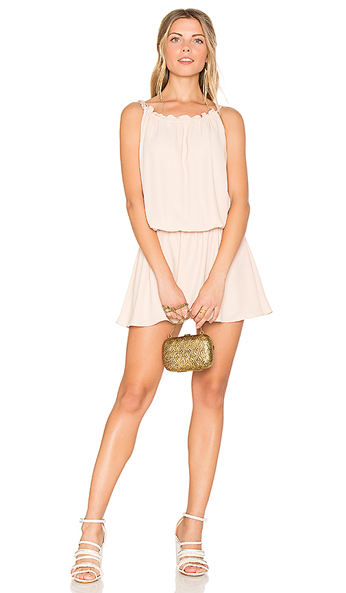 Photo of Amanda Uprichard Emlyn Dress in Beige - shop Amanda Uprichard dresses sales