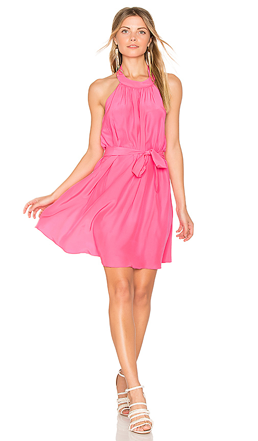 Amanda Uprichard Lawrence Dress in Pink