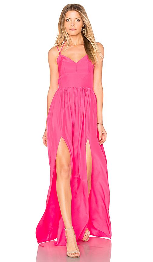 Amanda Uprichard Rio Maxi in Pink