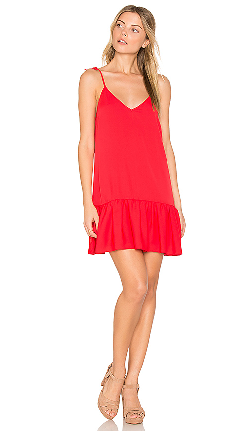 Amanda Uprichard Odessa Dress in Red