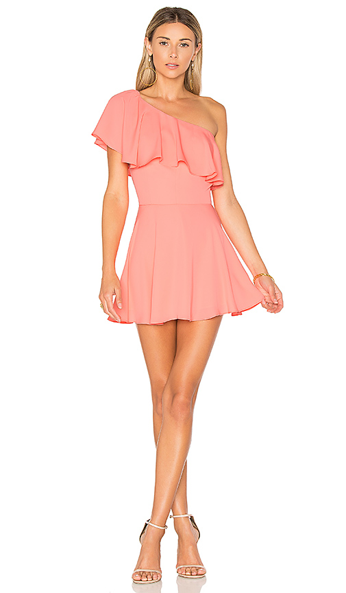 Amanda Uprichard Sedona Dress in Pink