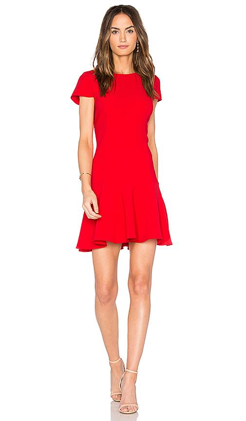 Amanda Uprichard Hudson Dress in Red