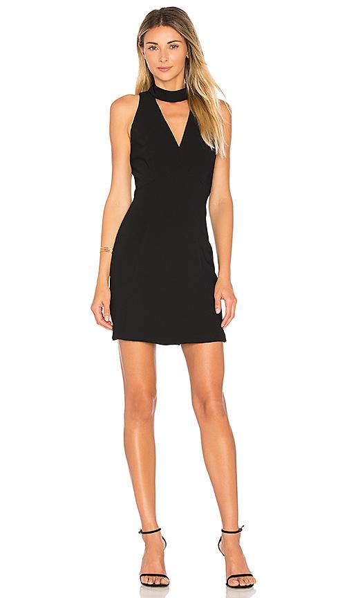 Amanda Uprichard Punch Dress in Black