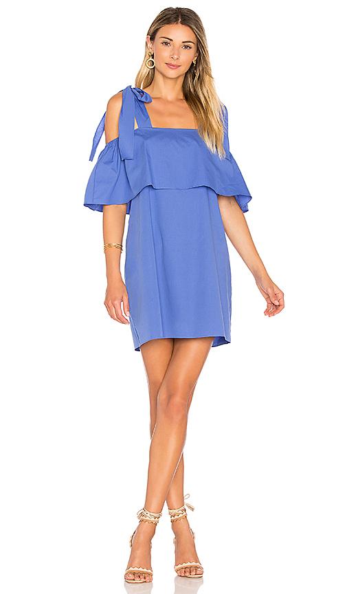 Amanda Uprichard Eli Dress in Blue