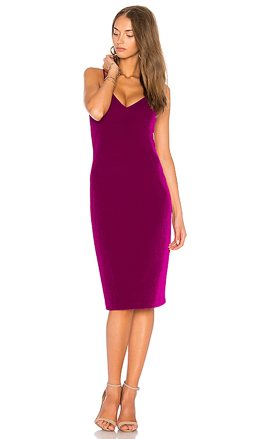 Amanda Uprichard Montecarlo Dress in Fuchsia