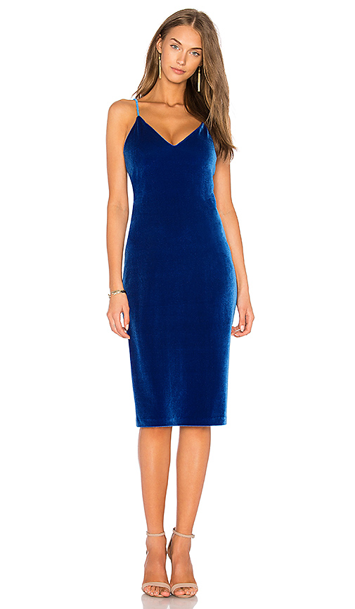 Amanda Uprichard Montecarlo Dress in Royal