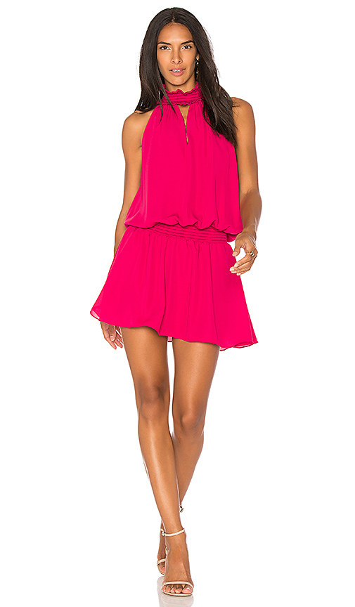 Amanda Uprichard Kimmie Dress in Pink