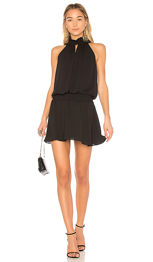 Amanda Uprichard Kimmie Dress in Black