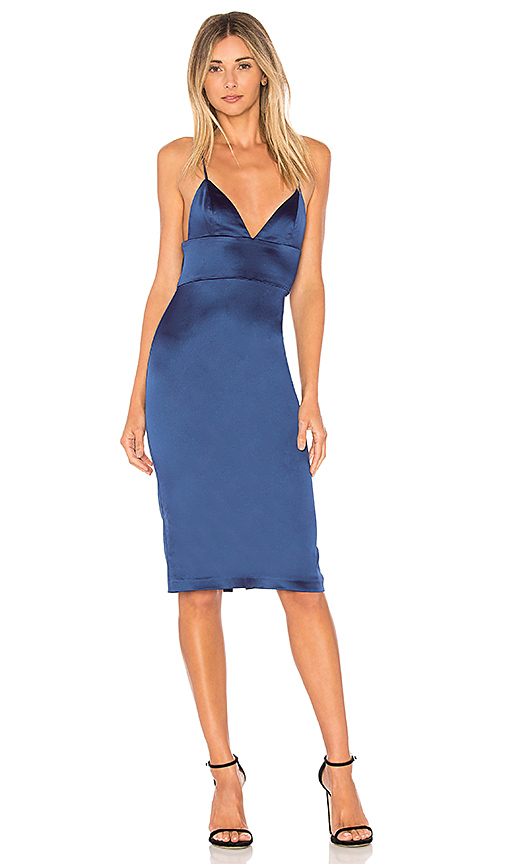 Amanda Uprichard Montrose Dress in Navy