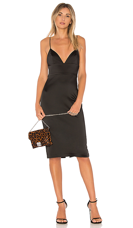 Amanda Uprichard Montrose Dress in Black