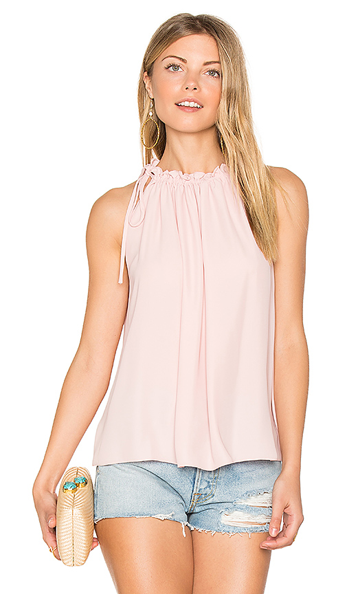 Amanda Uprichard Emlyn Tank in Rose