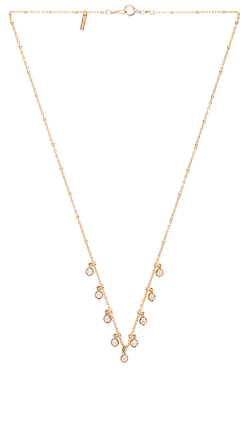 Amarilo Liv Necklace in Metallic Gold.