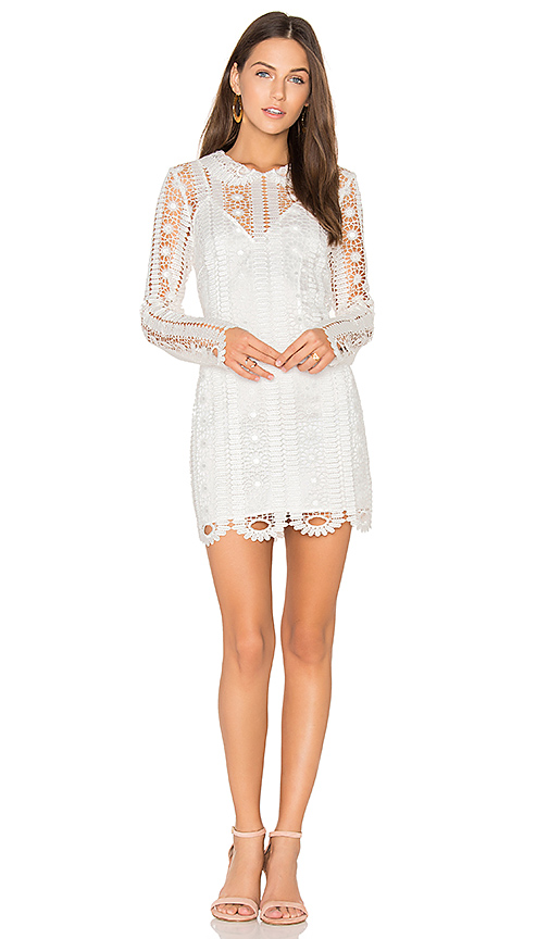 Alice McCall Soho Dress in White