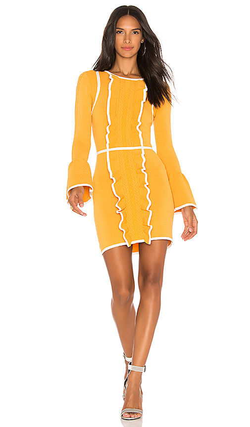 Alice McCall Im Here Dress in Mustard