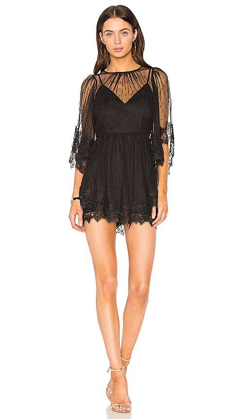 Alice McCall Lucky Charm Dress in Black