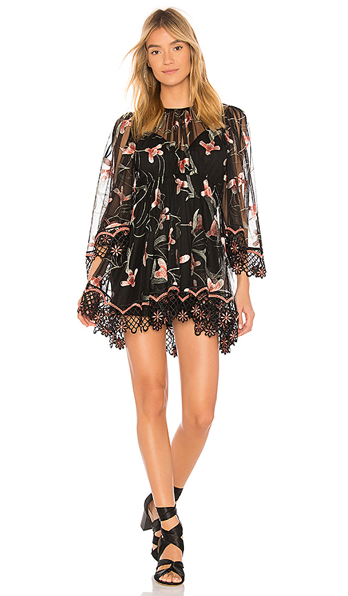 Alice McCall Wish You Were Here Dress in Black