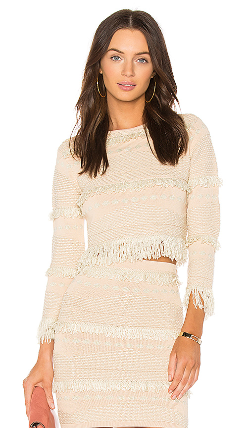 Alice McCall Big Exit Top in Pink