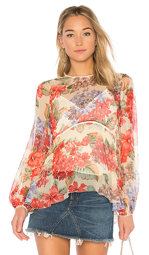 Alice McCall Beloved Blouse in Cream