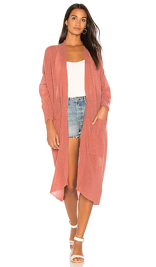 American Vintage Lulubay Cardigan in Blush. - size M-L (also in XS-S)