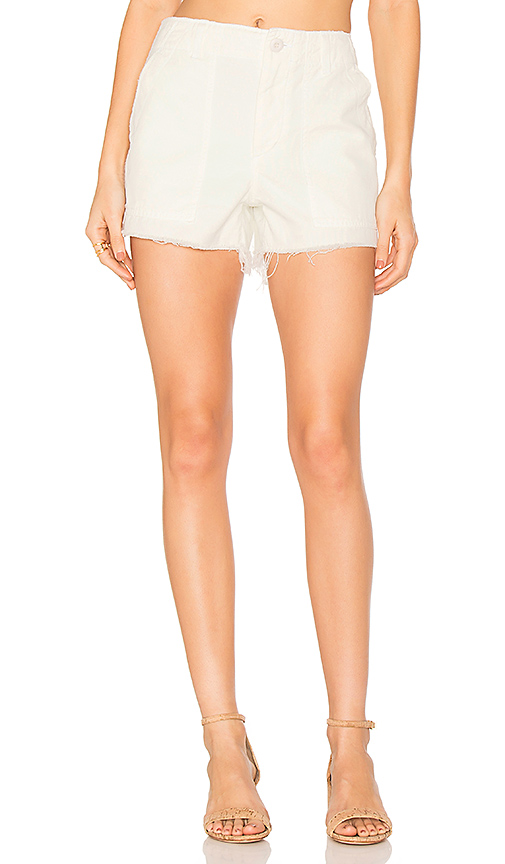 AMO Army Short in White. - size 24 (also in 25,26,27,28,29,30)
