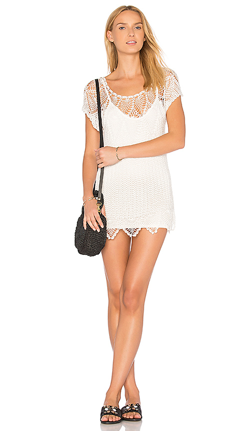 AMUSE SOCIETY Honora Dress in White