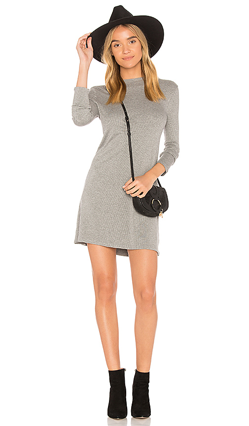 AMUSE SOCIETY Cool Horizons Dress in Gray