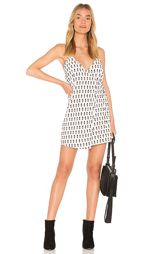 AMUSE SOCIETY Hayward Mini Dress in Ivory