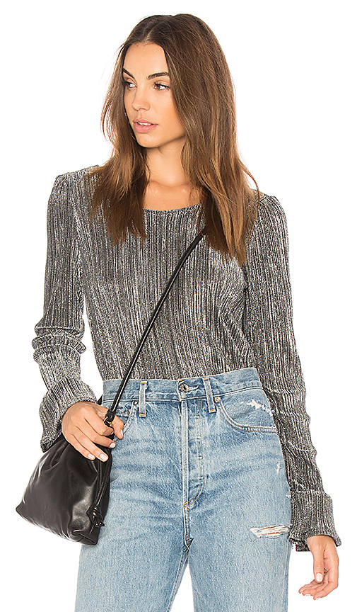 AMUSE SOCIETY Glimmer Knit Sweater in Black. - size XS (also in L,M,S)