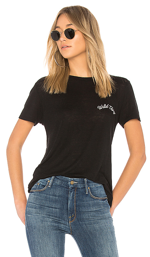 AMUSE SOCIETY Daxton Tee in Black