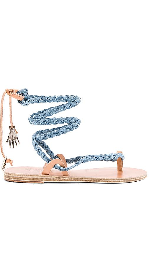 Ancient Greek Sandals Atropos Sandal in Blue