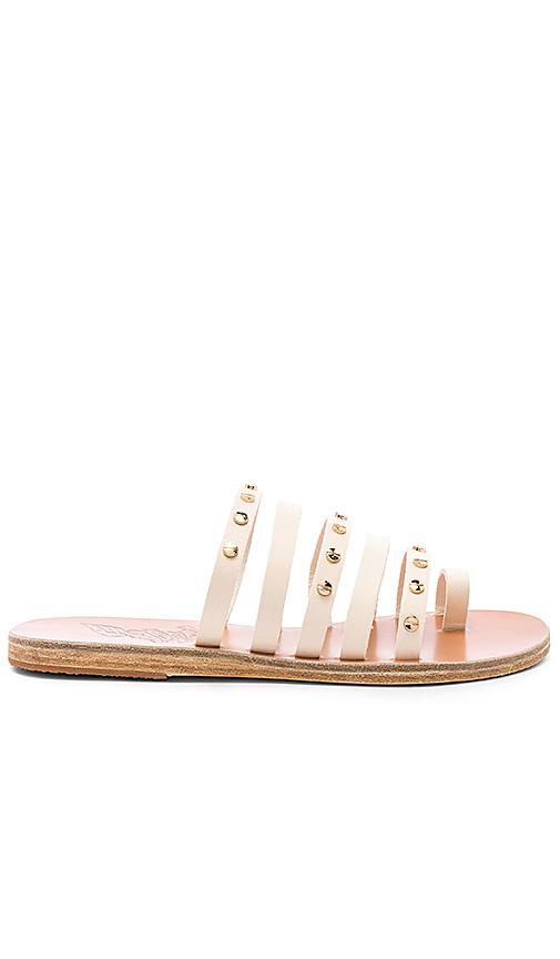 Ancient Greek Sandals Niki Nails Sandal in Cream