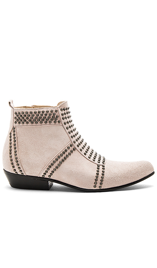 ANINE BING Charlie Booties in Blush. - size 36 (also in 40)