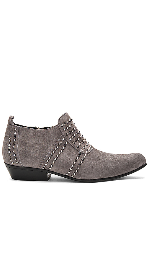 ANINE BING Low Charlie Bootie in Charcoal. - size 37 (also in 38,39,40,41)
