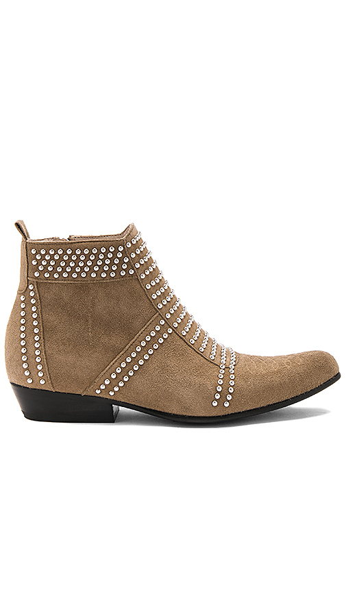 ANINE BING Charlie Bootie in Taupe. - size 36 (also in 37,38,39,40)