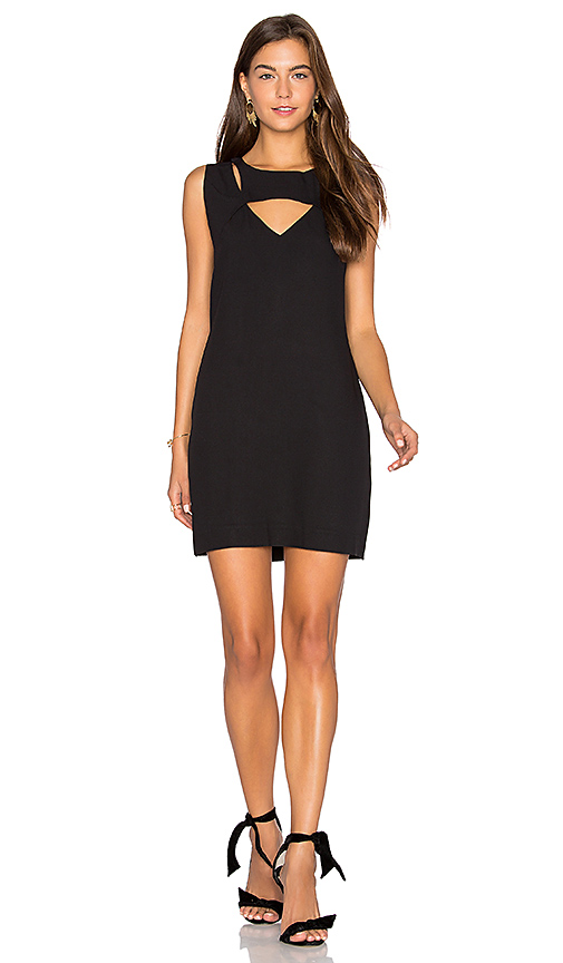 ANIMALE Cut Out Shift Dress in Black. - size 36/XS (also in 38/S)