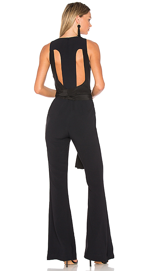 ANIMALE Flare Jumpsuit in Black. - size 40/M (also in 38/S,42/L)