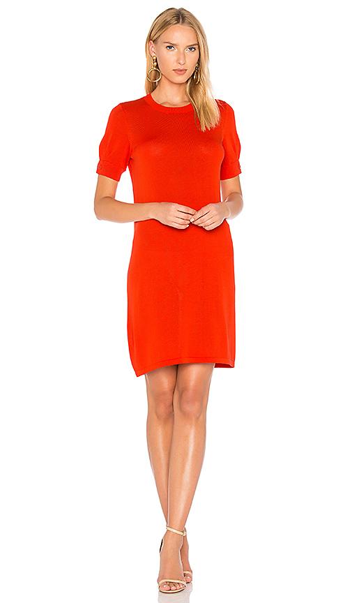 A.P.C. Elda Dress in Red. - size L (also in M,S,XS)