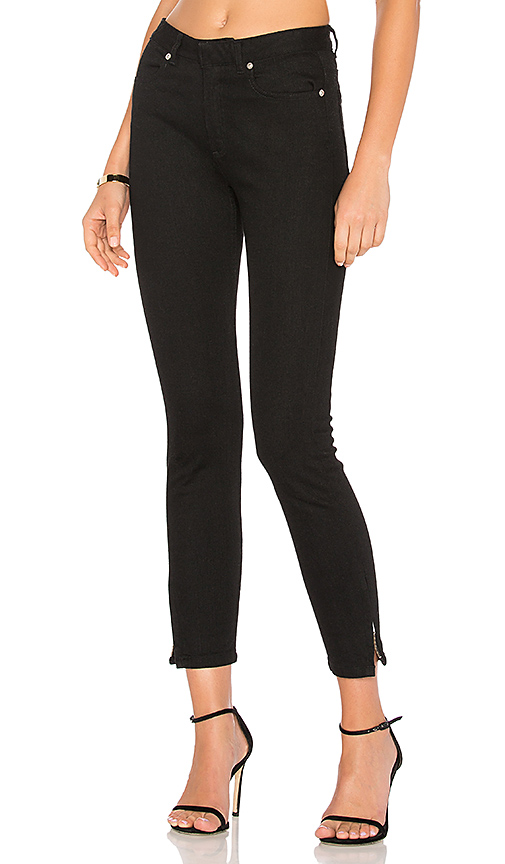 A.P.C. Mega Moulant Jeans in Noir. - size 24 (also in 25,26,27,29)