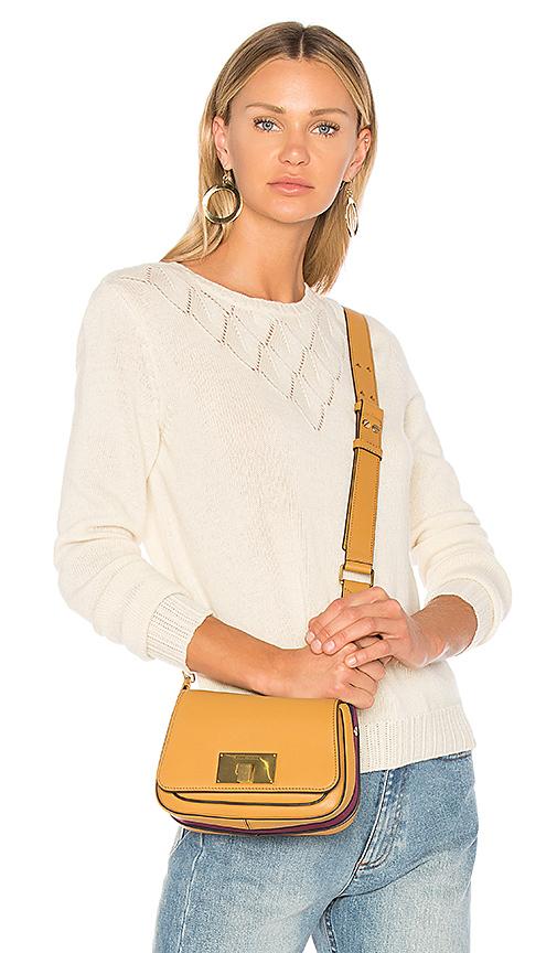 A.P.C. Diamond Sweater in White. - size L (also in S,XS,M)