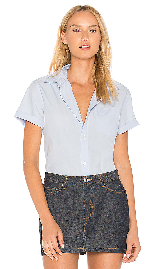 A.P.C. Dana Shirt in Blue