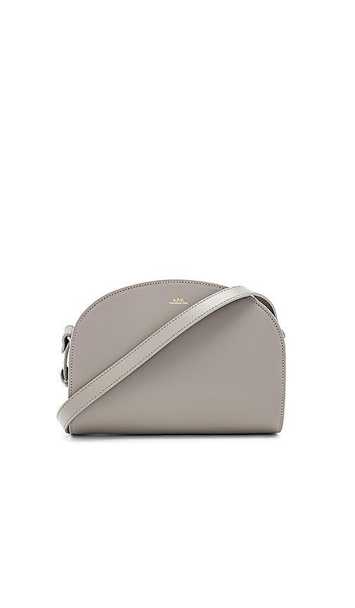 APC Demi Lune Bag in Gray
