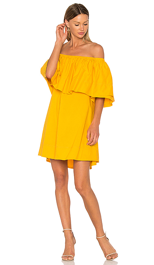 APIECE APART Piper Petal Dress in Yellow. - size 0 (also in 2)